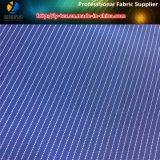 Garn gefärbtes Streifen-Polyester-Hülsen-Futter gesponnenes Textilgewebe (S17.37)