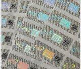Hot Sale Custom Faça sua própria etiqueta Hologram, Silver Background Hologram Sticker