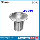 Metall Halide Replacment der Haken-Montierungs-800W 1000W 5 Jahre der Garantie-110lm/W 300 Watt LED-hohe Bucht-Licht-