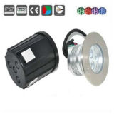 3With9W LEDの屋外の低電圧のデッキライト、地下ライト、床ライト