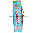 Sacchetto di acquisto tessuto pp impermeabile con la chiusura lampo, sacchetto di imballaggio di plastica