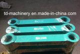 Conexão Rod da máquina escavadora Sk200 entre a cubeta e a ligação preta e amarela Rod do braço do escavador das peças