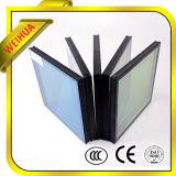 Precio de cristal de la fábrica de Weihua de la hoja de cristal aislada vacío de cristal de la lumbrera