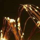 240のLEDの暖かく白いマルチ枝ストリング結婚式のための星明かりの豆電球の適用範囲が広い銅線