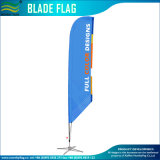 斜めの底(NF04F06111)が付いている習慣によって印刷される羽の刃の上陸海岸表示旗