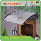 Protección ULTRAVIOLETA de la nieve de la lluvia de la hoja de la depresión del pabellón de la cortina de Sun del toldo de la puerta de la ventana