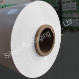 Branco opaco, agricultura Packng Fil de 750mm*25mic*1800mm, película plástica do envoltório da bala
