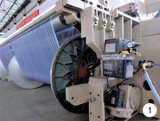 Pequeña máquina de materia textil Weft de alta velocidad de la densidad