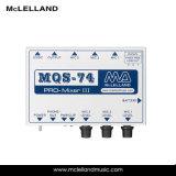 3 смеситель микрофона канала XLR миниый (MQS-74)