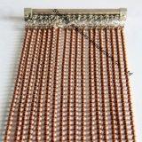 주문 구리 색깔 도금된 강철 금속 구슬 거는 사슬 커튼