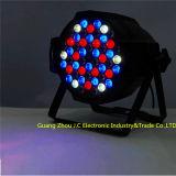 свет РАВЕНСТВА 54*3W RGBW СИД алюминиевый для крытого этапа