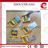 Verrouiller le commutateur sûr de molette avec le verrouillage électronique en plastique industriel d'alliage