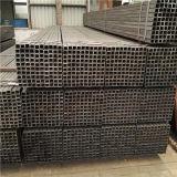 Черный стальной квадратный трубопровод определяет размер 100X100mm с поверхностью масла