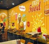 Projetar o papel de parede autoadesivo comercial para a decoração do restaurante