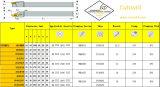 外部旋盤のIndexable炭化物の回転ツールのためのCutoutil Pssnr/L 1616h09