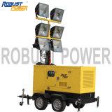 Torretta di illuminazione mobile potabile 4*1000W
