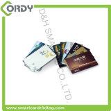 2017 neueste CMYK Prinitng Belüftung-kontaktlose Chipkarte mit magnetischem Streifen