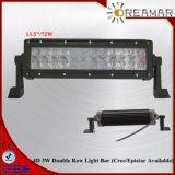barra clara Offroad do diodo emissor de luz de 13.5inch 72W 4D