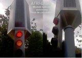 5 pouces 125 mm Rouge Jaune Vert Circulation LED Cheminée de la voie