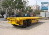 reboque Semi- Flatbed 2axles de 20FT feito em China