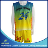 Sublimation su ordinazione Lacrosse Clothing con Reversible Top e Short