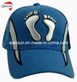6 бейсбольная кепка вышивки панели голубая 3D