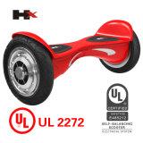 Vespa de equilibrio vendedora caliente del uno mismo elegante de la rueda de la pulgada 2 de Patend 10 con el altavoz dural de Bluetooth