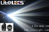 1つの段階移動ヘッドライト(Litelees大きい英雄)に付きベストセラー16r 330Wのビーム洗浄点3つ