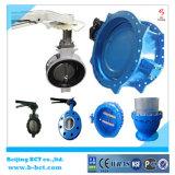 Válvula de borboleta Pn10 do assento do metal do forro EPDM/Rubber Pn16 Dn50 etc. Bct-E-Rbfv08