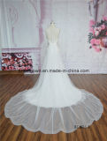 Langes Endstück-Spitze-Nixe-Hochzeits-Kleid