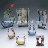 Flower acrylique Bottle et Acryic Vase