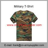 De overhemd-Politie T overhemd-Militaire T van het leger T overhemd-Katoenen T overhemd-Camouflage T-shirt