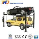 Гидровлическая стоянка автомобилей автомобиля столба 4 поднимает подъем стоянкы автомобилей столба /Smart 4