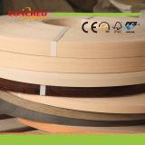 Fascia di bordo di legno del PVC di colore del grano