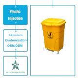 Modelagem por injeção plástica industrial ao ar livre personalizada de escaninho Waste de lata de lixo dos produtos plásticos