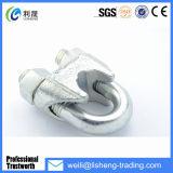 Электронные гальванизированные зажимы веревочки провода стальной отливки