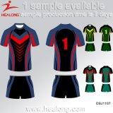 Uniforme do rugby da equipe do Sublimation do projeto 3D de Healong o melhor