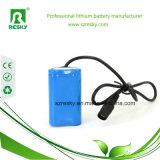 2200 paquete de la batería del Li-ion 2s1p 18650 7.4V para los dispositivos portables