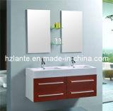 El más nuevo diseño de doble lavabo del baño del gabinete