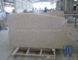 까만 Granite Stone Vanity Top Kitchen Bathroom를 위한