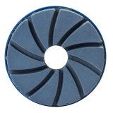 돌 폴란드어를 위한 달팽이를 가진 다이아몬드 수지 가장자리 닦는 바퀴