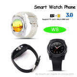 昇進のギフト(W8)のためのBluetoothの安いスマートな腕時計の携帯電話