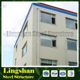 Lingshan barato pre-fabricadas de acero de construcción de oficinas (LS-SS-601)