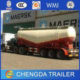 3 Wellen 30cbm trocknen Massenkleber-Tanker-halb Schlussteil nach Afrika
