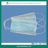 nichtgewebte chirurgische 3ply Gesichtsmaske/Wegwerfgesichtsmaske
