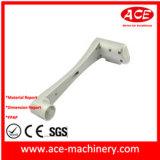 Aluminium CNC-maschinell bearbeitenteil mit Schmieden-Prozess