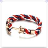 De Armband van het Leer van de Juwelen van het Leer van de Armband van het roestvrij staal (LB576)