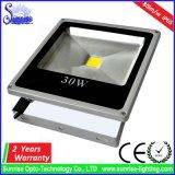 알루미늄 주거 고성능 30W는 LED 투광램프를 체중을 줄인다