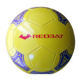 Cousu à la machine Brillant PVC Football (XLFB-031)