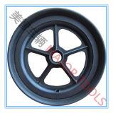 Da roda livre lisa da espuma do plutônio de 10 polegadas pneumático liso para Wheelbarrows e troles